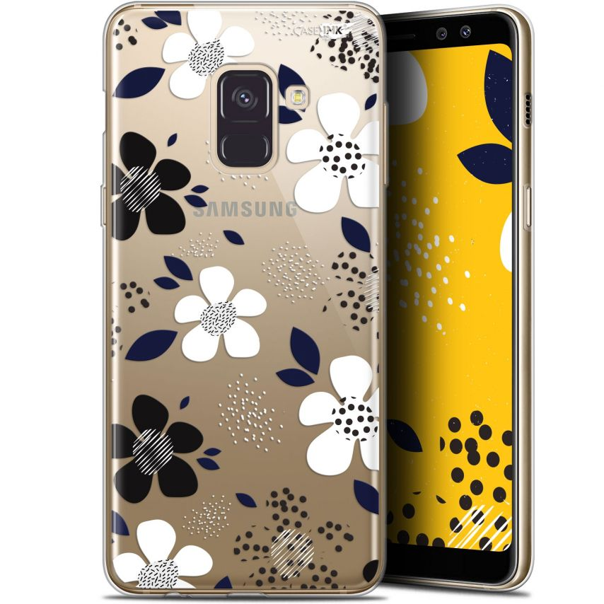 "Carcasa Gel Extra Fina Samsung Galaxy A8 (2018) A530 (5.6"") Design Marimeko Style"