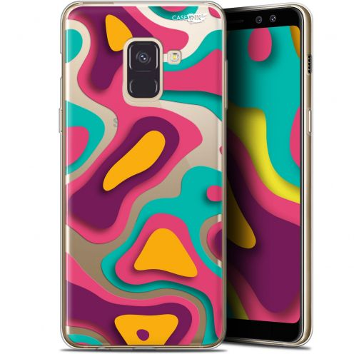 "Carcasa Gel Extra Fina Samsung Galaxy A8 (2018) A530 (5.6"") Design Popings"