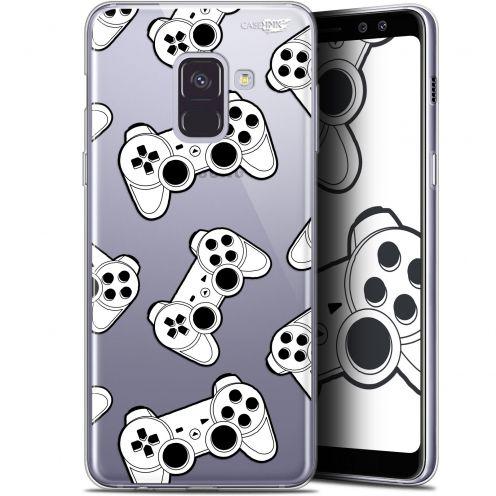 "Carcasa Gel Extra Fina Samsung Galaxy A8 (2018) A530 (5.6"") Design Game Play Joysticks"