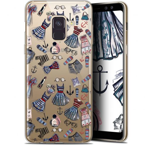 """Carcasa Gel Extra Fina Samsung Galaxy A8 (2018) A530 (5.6"""") Design Fashionista"""