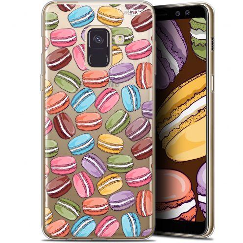 "Carcasa Gel Extra Fina Samsung Galaxy A8 (2018) A530 (5.6"") Design Macarons"