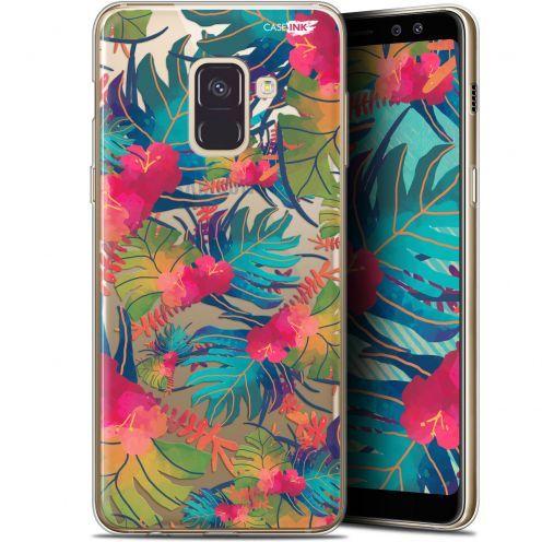 "Carcasa Gel Extra Fina Samsung Galaxy A8 (2018) A530 (5.6"") Design Couleurs des Tropiques"