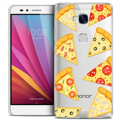 Carcasa Crystal Extra Fina Honor 5X Foodie Pizza