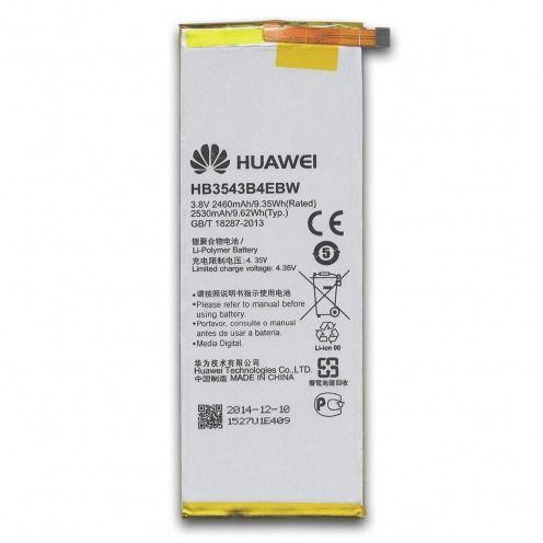 Batería genuina HB3543B4EBW Para Huawei Ascend P7