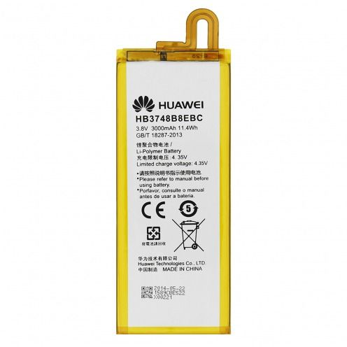Batería genuina HB3748B8EBC Para Huawei Ascend G7