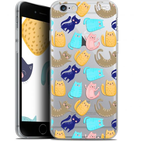 "Carcasa Gel Extra Fina Apple iPhone 6/6s (4.7"") Design Chat Danse"