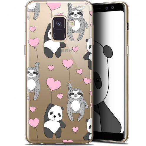 "Carcasa Gel Extra Fina Samsung Galaxy A8+ (2018) A730 (6"") Design Panda'mour"