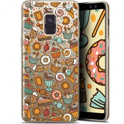 "Carcasa Gel Extra Fina Samsung Galaxy A8+ (2018) A730 (6"") Design Bonbons"
