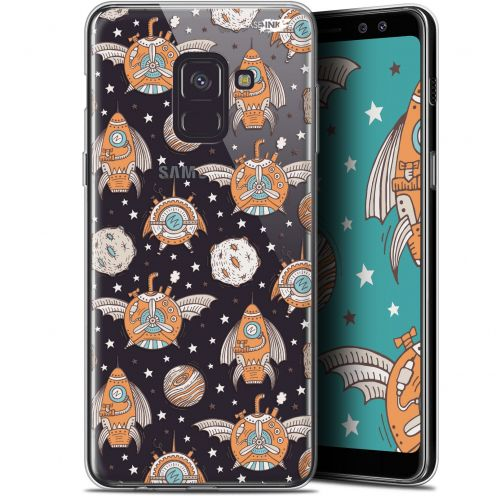 "Carcasa Gel Extra Fina Samsung Galaxy A8+ (2018) A730 (6"") Design Punk Space"