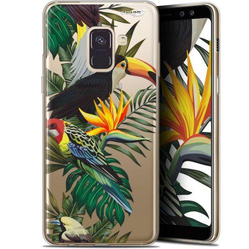 """Carcasa Gel Extra Fina Samsung Galaxy A8+ (2018) A730 (6"""") Design Toucan Tropical"""