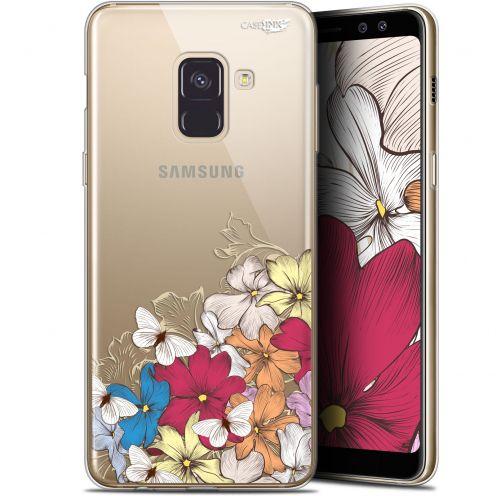 "Carcasa Gel Extra Fina Samsung Galaxy A8+ (2018) A730 (6"") Design Nuage Floral"