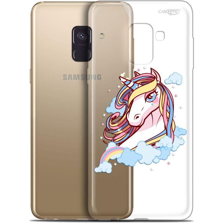 "Carcasa Gel Extra Fina Samsung Galaxy A8+ (2018) A730 (6"") Design Lalicorne"
