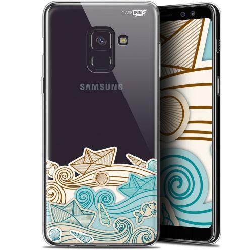 "Carcasa Gel Extra Fina Samsung Galaxy A8+ (2018) A730 (6"") Design Bateau de Papier"
