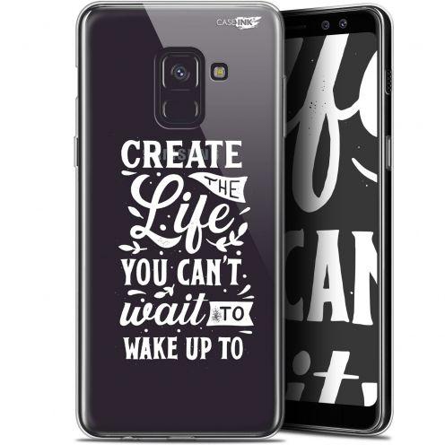 "Carcasa Gel Extra Fina Samsung Galaxy A8+ (2018) A730 (6"") Design Wake Up Your Life"