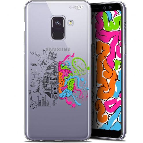 "Carcasa Gel Extra Fina Samsung Galaxy A8+ (2018) A730 (6"") Design Le Cerveau"