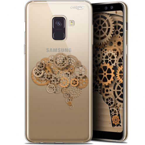 "Carcasa Gel Extra Fina Samsung Galaxy A8+ (2018) A730 (6"") Design Mécanismes du Cerveau"