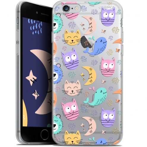 "Carcasa Gel Extra Fina Apple iPhone 6/6s (4.7"") Design Chat Hibou"