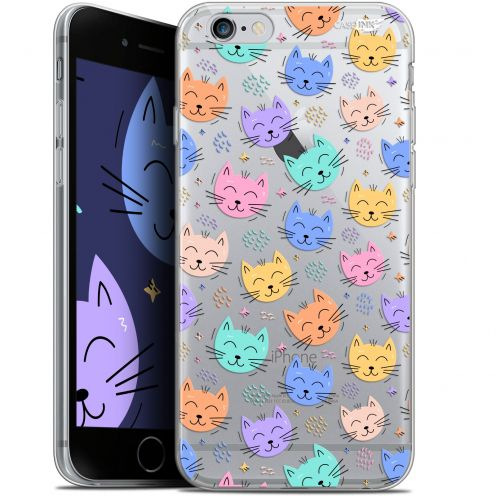 "Carcasa Gel Extra Fina Apple iPhone 6/6s (4.7"") Design Chat Dormant"