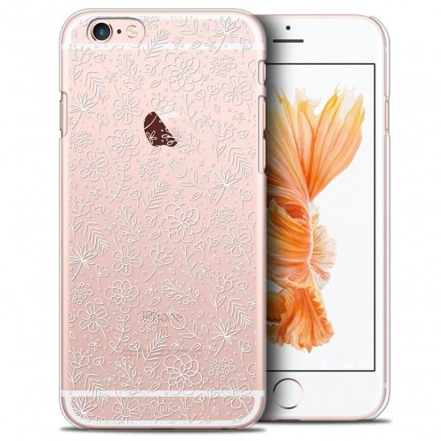 Carcasa Crystal Extra Fina iPhone 6/6s Plus Summer Florale Blanche
