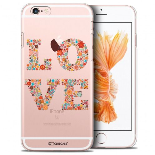 Carcasa Crystal Extra Fina iPhone 6/6s Summer Love Flowers