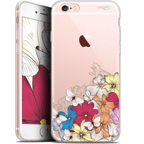 "Carcasa Gel Extra Fina Apple iPhone 6/6s (4.7"") Design Nuage Floral"