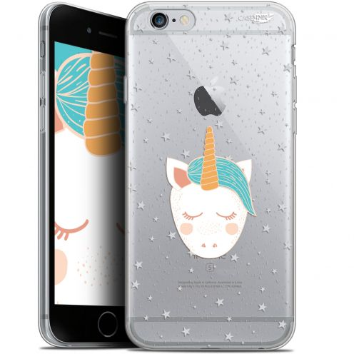 "Carcasa Gel Extra Fina Apple iPhone 6/6s (4.7"") Design Licorne Dors"