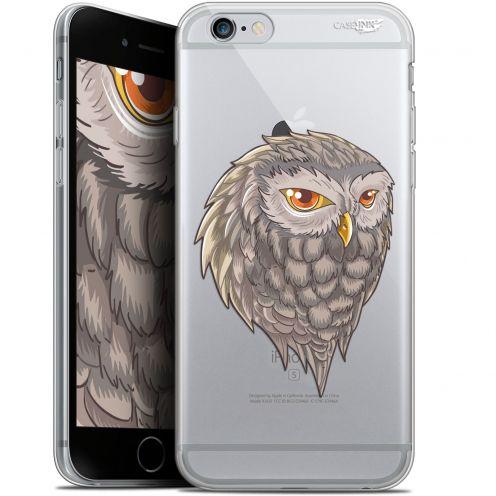 "Carcasa Gel Extra Fina Apple iPhone 6/6s (4.7"") Design Hibou Draw"