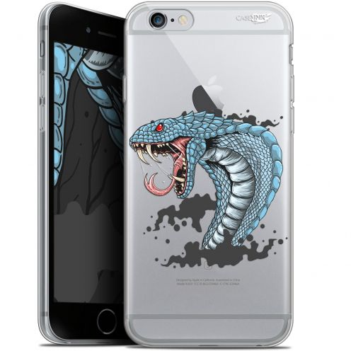 "Carcasa Gel Extra Fina Apple iPhone 6/6s (4.7"") Design Cobra Draw"