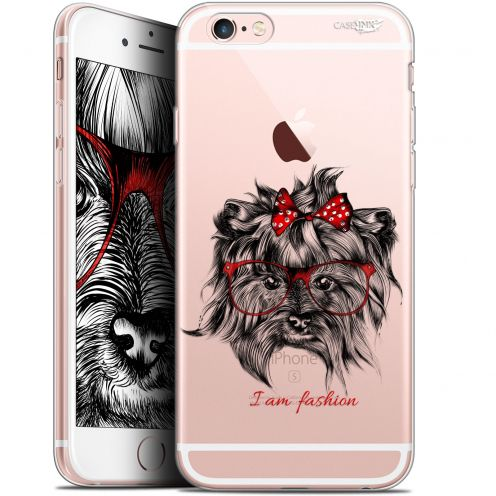 "Carcasa Gel Extra Fina Apple iPhone 6/6s (4.7"") Design Fashion Dog"