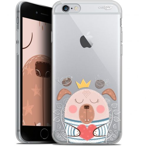 "Carcasa Gel Extra Fina Apple iPhone 6/6s (4.7"") Design Sketchy Dog"