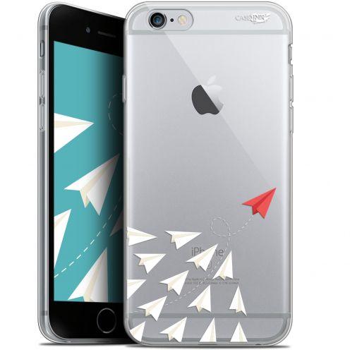 "Carcasa Gel Extra Fina Apple iPhone 6/6s (4.7"") Design Papier Volant"