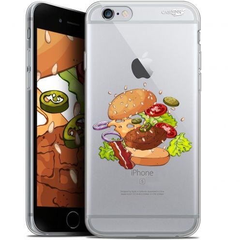"Carcasa Gel Extra Fina Apple iPhone 6/6s (4.7"") Design Splash Burger"