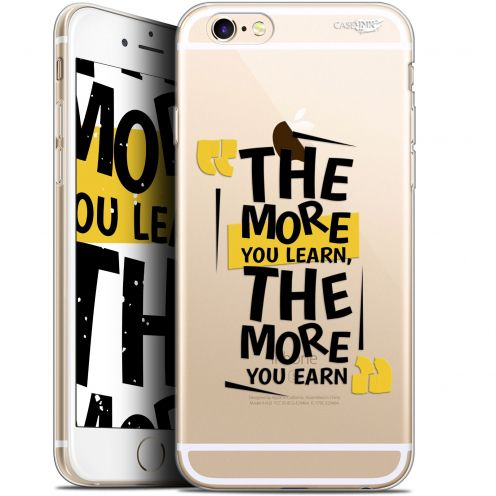 """Carcasa Gel Extra Fina Apple iPhone 6/6s (4.7"""") Design The More You Learn"""