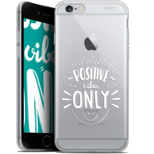 "Carcasa Gel Extra Fina Apple iPhone 6/6s (4.7"") Design Positive Vibes Only"