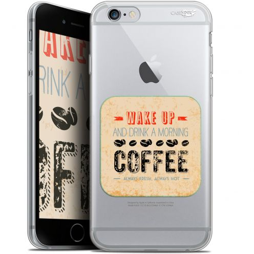 "Carcasa Gel Extra Fina Apple iPhone 6/6s (4.7"") Design Wake Up With Coffee"