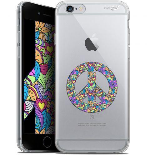 "Carcasa Gel Extra Fina Apple iPhone 6/6s (4.7"") Design Peace And Love"