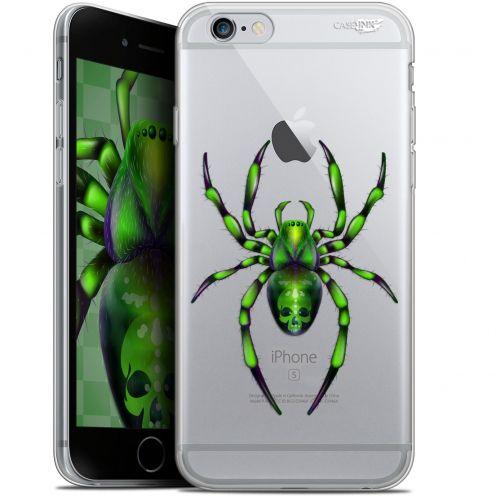 """Carcasa Gel Extra Fina Apple iPhone 6/6s (4.7"""") Design Arraignée Verte"""