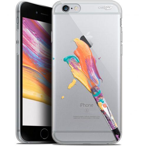 """Carcasa Gel Extra Fina Apple iPhone 6/6s (4.7"""") Design Pinceau de Peinture"""