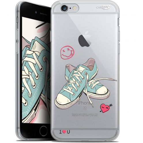"Carcasa Gel Extra Fina Apple iPhone 6/6s (4.7"") Design Mes Sneakers d'Amour"
