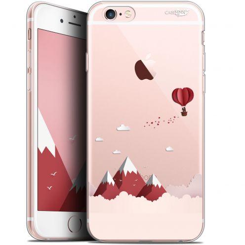 """Carcasa Gel Extra Fina Apple iPhone 6/6s (4.7"""") Design Montagne En Montgolfière"""