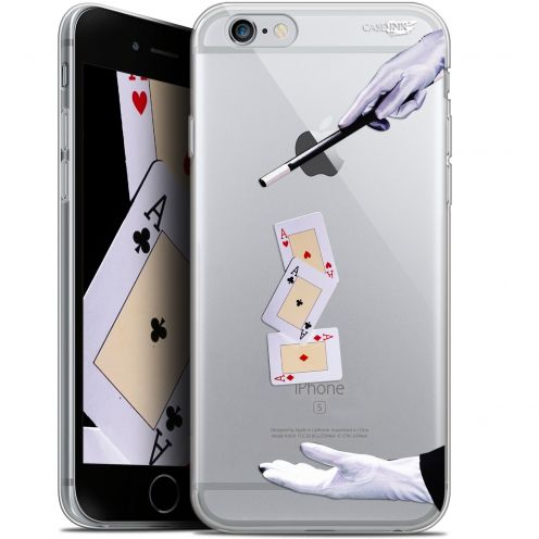 """Carcasa Gel Extra Fina Apple iPhone 6/6s (4.7"""") Design Cartes Magiques"""