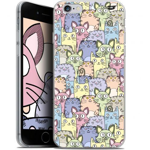 "Carcasa Gel Extra Fina Apple iPhone 6 Plus/ iPhone 6s Plus (5.5"") Design Foule de Chats"