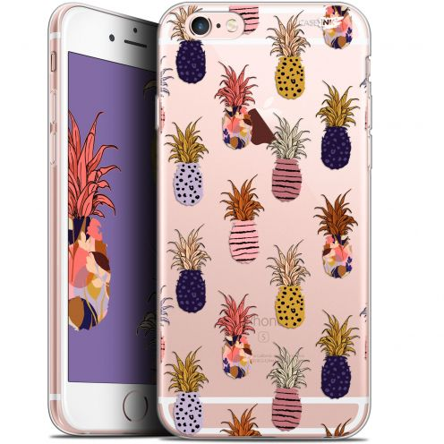 "Carcasa Gel Extra Fina Apple iPhone 6 Plus/ iPhone 6s Plus (5.5"") Design Ananas Gold"