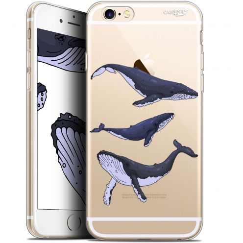 """Carcasa Gel Extra Fina Apple iPhone 6 Plus/ iPhone 6s Plus (5.5"""") Design Les 3 Baleines"""