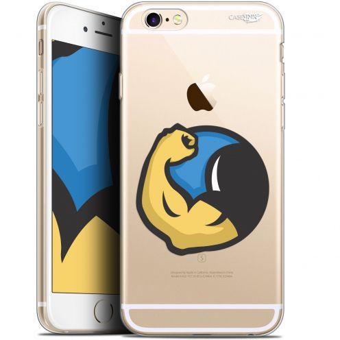 "Carcasa Gel Extra Fina Apple iPhone 6 Plus/ iPhone 6s Plus (5.5"") Design Monsieur Muscle"