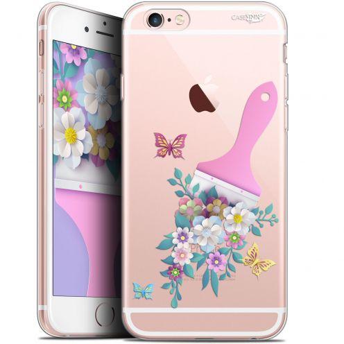 "Carcasa Gel Extra Fina Apple iPhone 6 Plus/ iPhone 6s Plus (5.5"") Design Pinceau à Fleurs"