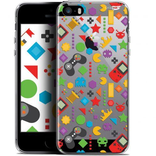 "Carcasa Gel Extra Fina Apple iPhone 5/5s/SE (4"") Design PacMan"