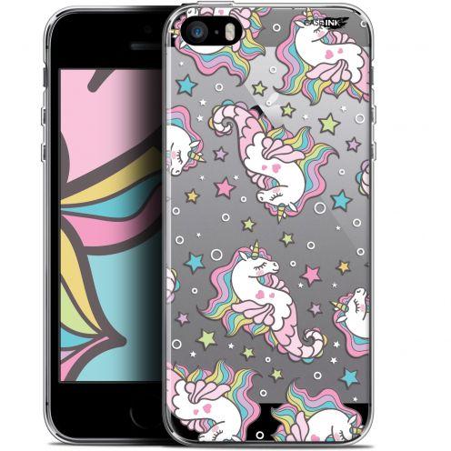 "Carcasa Gel Extra Fina Apple iPhone 5/5s/SE (4"") Design Licorne Dormante"