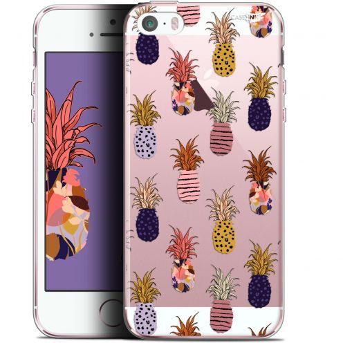 "Carcasa Gel Extra Fina Apple iPhone 5/5s/SE (4"") Design Ananas Gold"