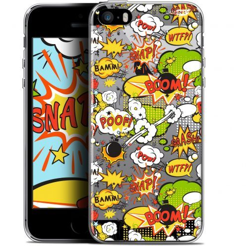 "Carcasa Gel Extra Fina Apple iPhone 5/5s/SE (4"") Design Bim Bam Boom"
